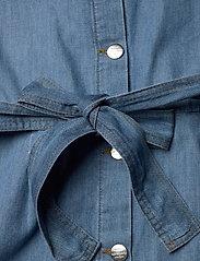 Mads Nørgaard - Light Indigo Cammy - tøj - soft blue - 4