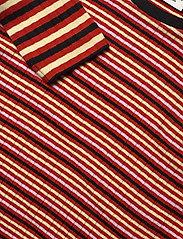 Mads Nørgaard - 5x5 Stripe Mix Talika - langärmelig - red multi - 2