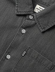 Mads Nørgaard - Dark Soft  Svantino Short - shirts - dark washed - 2