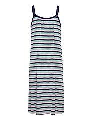 5x5 Stripe Ducina - AQUA/PINK/NAVY