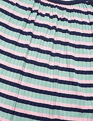 Mads Nørgaard - 5x5 Stripe Ducina - kleider - aqua/pink/navy - 2