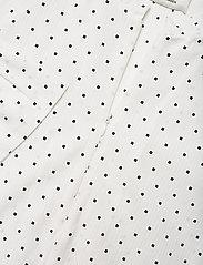 Mads Nørgaard - Cotton Seersucker Dupina - sommerkjoler - white/black - 2