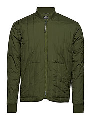 Quilted Rip Stop Jonas - RIFLE GREEN