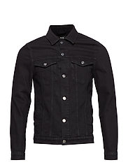 Denim Jacket Ziggy - BLACK