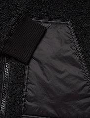Mads Nørgaard - Chunky Fleece Jeff - basic-sweatshirts - charcoal melange - 3
