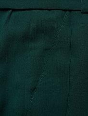 Mads Nørgaard - Crepe georgette Pleasy - bukser med brede ben - dark petrol - 3