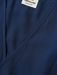 Mads Nørgaard - Crepe georgette Drolla - wrap dresses - navy - 2