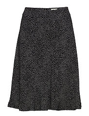Dot Viscose Stelly c - BLACK/ECRU
