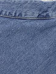 Mads Nørgaard - Heavy Indigo Stelly - jeansowe spódnice - worn stone - 2