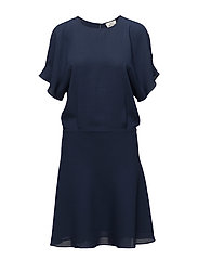 Crepe georgette Dippy - NAVY