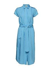 Striped Viscose Daxy - BLUE/BLUE