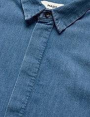 Mads Nørgaard - Soft Indigo Dancella - skjortekjoler - pale indigo - 2