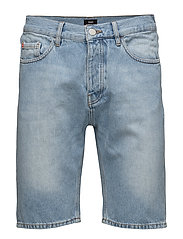 Denim Shorts Bleached - BLEACHED