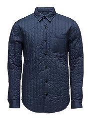 Quilt Shirt Skols - DARK DENIM