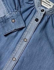 Mads Nørgaard - Light Indigo Sylle - jeansblouses - mid blue - 3