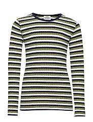5x5 Happy Stripe Talino - NAVY MULTI
