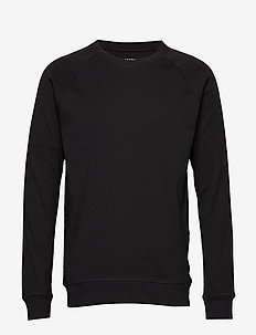Cotton Rib Stelt - basic sweatshirts - black