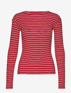 2x2 Duo Stripe Tuba - BRIGHT RED/WHITE