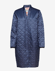 Shiny quilt Chillina - NAVY
