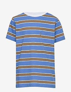 Summer Stripe Trolino - PALACE BLUE