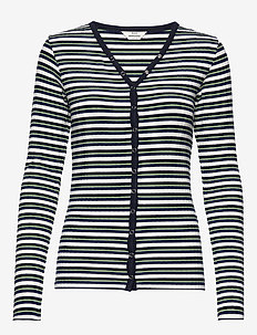 5x5 Dream Stripe Carolla Short - NAVY MULTI