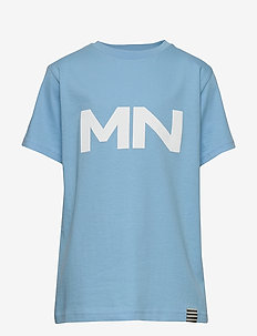 Printed Tee Thorlino - logo - alaskan blue