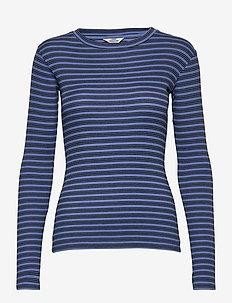 2x2 RailwayTuba - hauts tricotés - blue violette/black