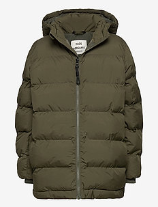 Recycle Junino - puffer & padded - forest night
