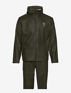 TxMN Rain Set - rainwear - army