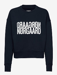 Organic sweat Tilvina P - sweatshirts - navy/white