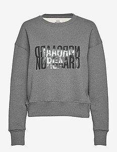 Organic sweat Tilvina P - sweatshirts - dark grey melange