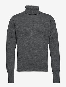 100% Wool Klemens - basic strik - charcoal melange