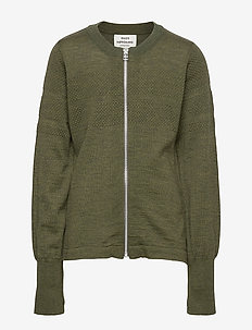 Wool Tender Klembino Zip - ARMY MELANGE
