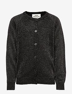 Wool Lurex Carmbino - GLITTERY BLACK