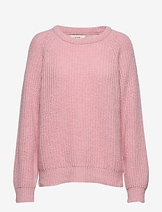 Recycled Favorite Wool Ketty - tröjor - rose melange