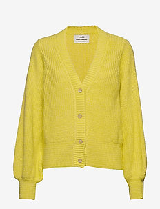 Mohair Jam Caspalla - swetry rozpinane - cool yellow