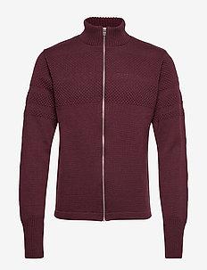 100% Wool Klemens Zip - SASSAFRAS