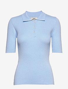 Mono Cotton Group Kolo - stickade toppar & t-shirts - soft sky