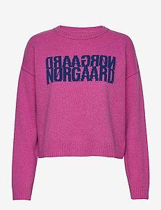 Recy Soft Knit Tilvina - gensere - shocking pink
