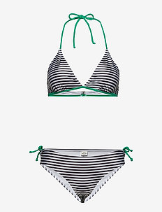 Ibiza Bikinna B - BLACK/WHITE/GREEN