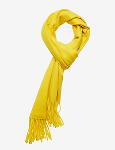 Laine Wool Amber - scarves - yellow