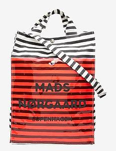 Töte Bag Q - BLACK/WHITE/RED