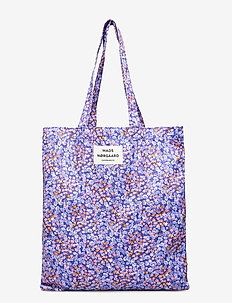 Canvas Twill Atoma - casual shoppers - blue flower
