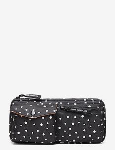 Recycled Bel Air Carni Dot - belt bags - black/off white dot