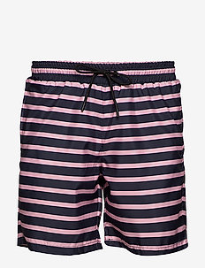 Sea Sandro Stripe - shorts - pink stripe