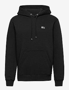New Standard Hoodie Badge - podstawowe bluzy - black