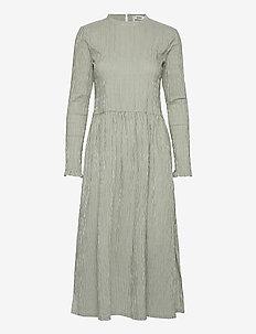 Crinckle Pop Docca - alledaagse jurken - army/off white