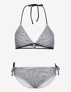 Ibiza Bikinna B - bikini sæt - white/black