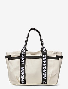 Heavy Recy Cotton Tooly - tote bags - off white