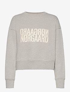 Organic Sweat Tilvina P - sweatshirts - light grey melange